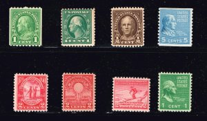 US STAMP 20TH MNH US STAMPS COLLECTION LOT