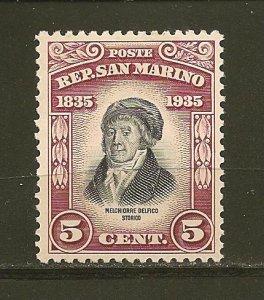 San Marino 169 Mint Hinged