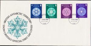 British Antarctic Territory Scott 133-136 Unaddressed.