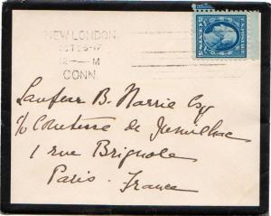 United States Connecticut New London, Conn. 1917 Columbia Machine Type K8  5c...