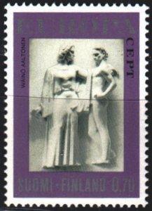 Finland. 1974. 749. Sculptures, europe-sept. MNH.