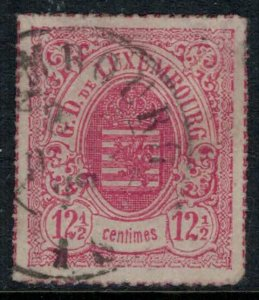 Luxembourg #20  CV $8.00