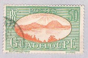Guadeloupe 110 Used Saints Roadstead 1928 (BP3037)
