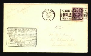 Canada 1929 FFC - Moncton to Charlottetown - Z16694