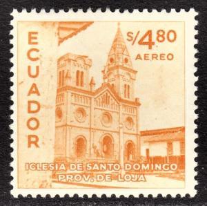 Ecuador Scott C297  F+  mint OG LH.
