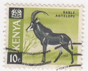 Kenya, Sc  21, Used, 1966, Animals