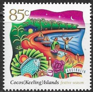 Cocos Islands ~ Scott # 325 ~ MNH ~ Festive Season