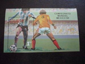 Stamps - Cuba - Scott# 2831 - Souvenir Sheet