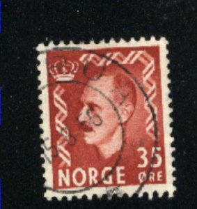Norway #312   used VF 1950-51 PD