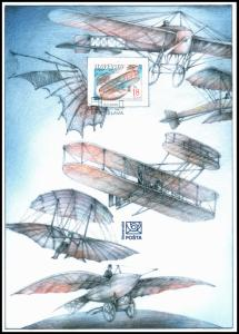 SLOVAKIA/2003, (Coll. Sheet) 100 Anni. of the Wright Brothers First Flight, MNH