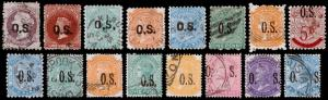South Australia Scott O37 // O82 (1876-1900) Used F-VF, CV $47.30 M