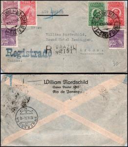 Goldpath: Brazil Air Mail 1934, to Switzerland   _CV23_P10
