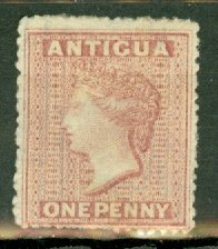 B: Antigua 2 unused no gum CV $135