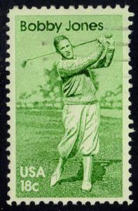 US #1933 Bobby Jones, used (0.25)
