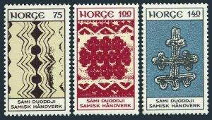 Norway 623-625,MNH.Michel 668-670. Handicrafts from Lapland,1973.