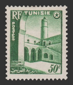 TUNISIA 1954 SCOTT # 236. UNUSED.