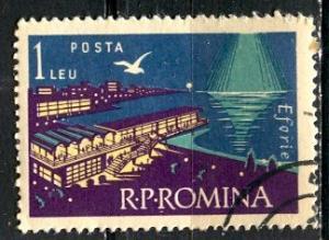 Romania; 1960: Sc. # 1373; O/Used CTO Single Stamp