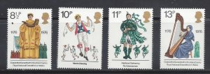 Great Britain MNH 790-3 Cultural Traditions