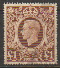 GB George VI  SG 478c Used