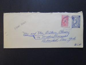 Saudi Arabia Older Boat Mail Cover to USA - Z3773