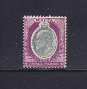 MALTA 1903-1904 MH SC.25