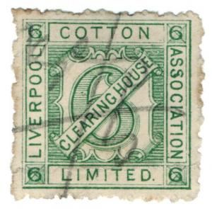 (I.B) Liverpool Cotton Association : Fee 6d