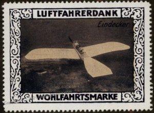 Germany WWI Eindecker Air Force Memorial Luftfahrerdank Flight MNH  Cind G102820