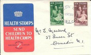 NZFD708 New zealand health cover 1967 FDC $4.00