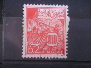 ALGERIA, 1964, used 25c, Tractors Scott 324