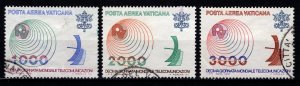 Vatican City 1978 Air Mail, Tenth World Telecommunications Day, Set [Used]