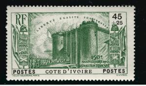 Ivory Coast French Revolution B3 VF hr $8.75...Make me an Offer!