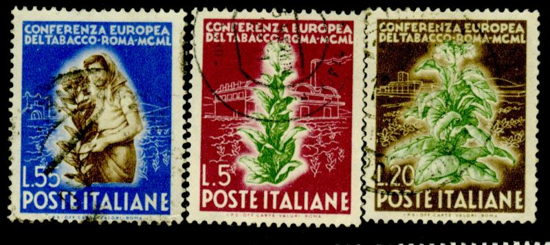 Italy 544-6 Used F-VF CAt$34.90
