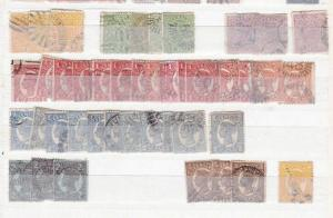 MIXED  AUSTRALIA  EARLY STAMPS UNCHECKED  R 2263