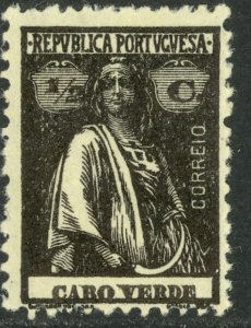 CAPE VERDE 1914-26 1/2c CERES Issue Sc 145 MH