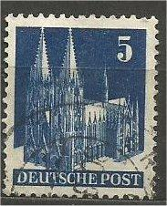 GERMANY, 1948, used 5pf, Munich Scott 636a