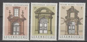 Luxembourg #792-4  MNH F-VF CV $4.50 (SU870)