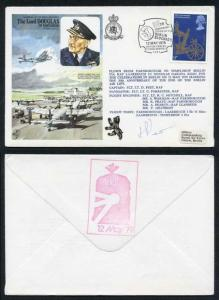 HA38b The Lord Douglas of Kirtleside Pilot Signed