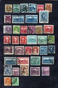 Czech Belgium Denmark Swiss Romania Early Perfins (Appx 155)(NT 3657