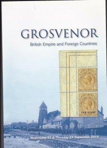 Grosvenor Auction Catalogue, British Empire & Foreign Countries September 2015