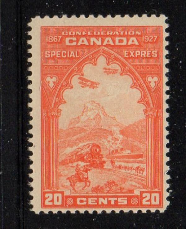 Canada Sc E3 1927 20c Special Delivery stamp mint NH