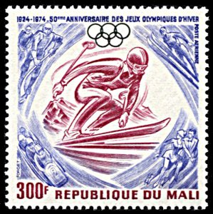 Mali C230, MNH, 50th Anniversary of Winter Olympics