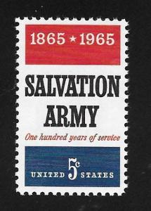 SC# 1267 - (5c) - Salvation Army, MNH single