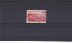 monaco 1939 2f50 scarlet  stamp cat £30+ ref 11685