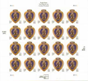 US 4390 - 44¢ Purple Heart Unused