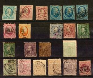 Netherlands Nederland classic Dutch stamps catalogue value Euro 600