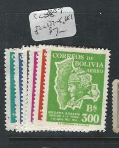 BOLIVIA   (P1303BB)  SC 380-7, C177-8, 181  MOG