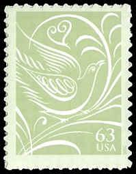 PCBstamps    US #3999 63c Dove facing right, 2006, MNH, (7)