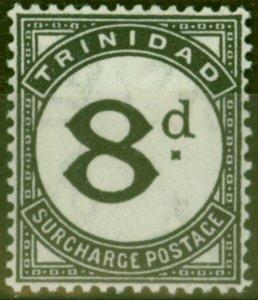 Trinidad 1945 8d Black SGD24 Fine Lightly Mtd Mint