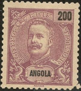 Angola, Scott #56, Unused, No Gum, priced as Used