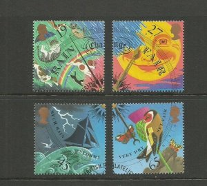 GB 2001 The Weather. Very Fine Used SG 2197/200